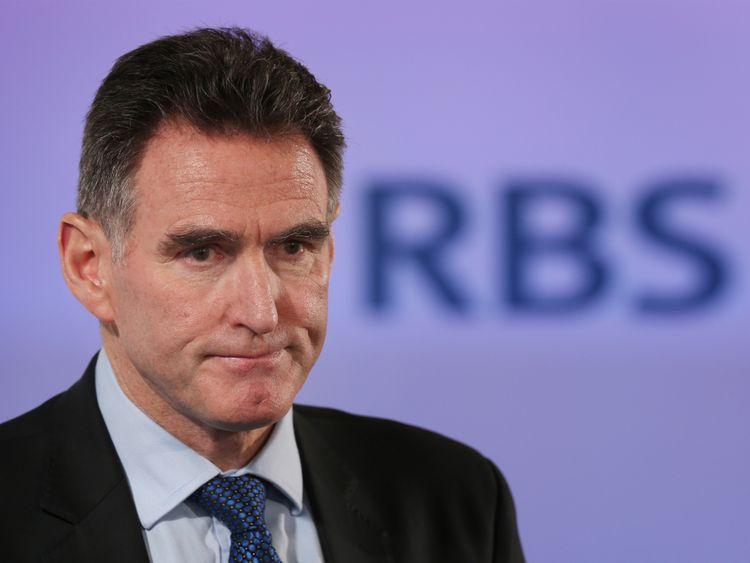RBS chief executive Ross McEwan