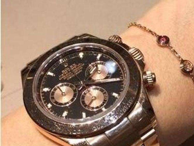 A Rolex watch was stolen. Pic: Met Police