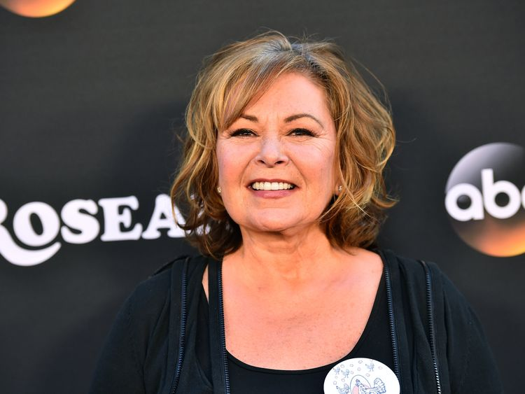 Roseanne Barr has apologised for making a joke she now says was in 'bad taste'