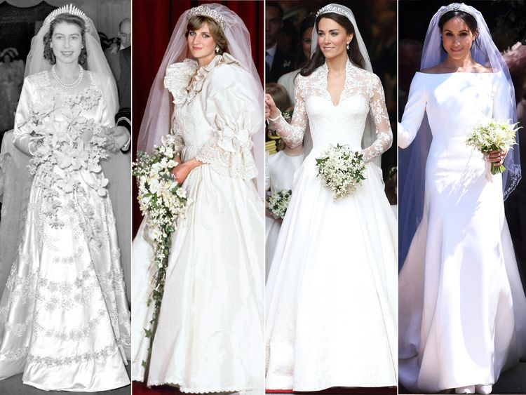 Meghan Markle\'s wedding dress and its place in royal fashion history