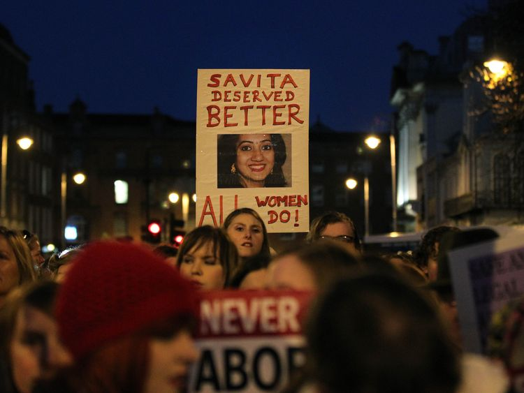 The were also protests in Dublin in the months after the 31-year-old died