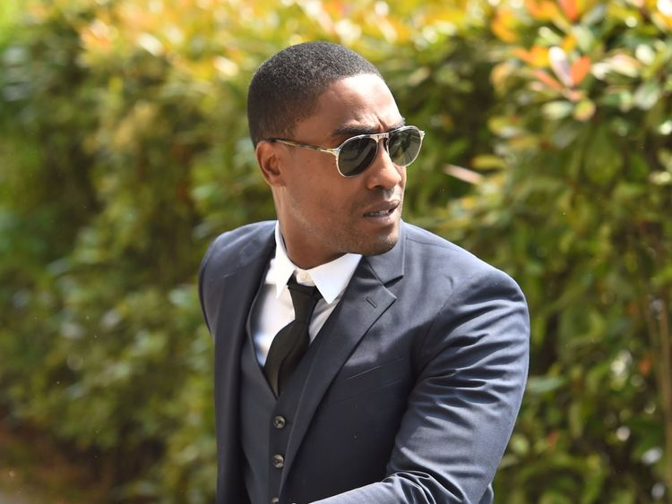 Simon Webbe of Blue, who will perform