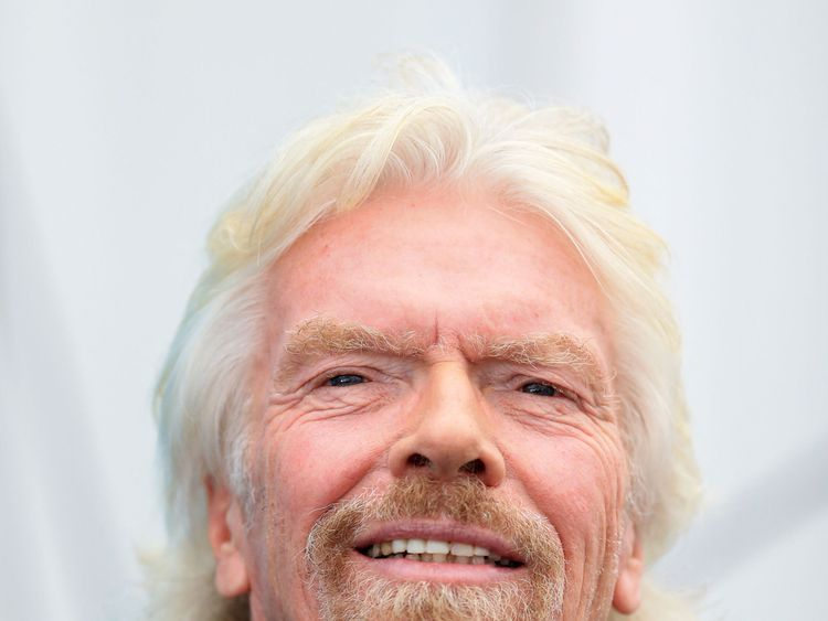 Branson's astronaut training as space race hots up