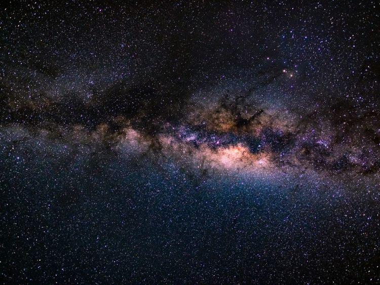 The Milky Way as seen from the southern hemisphere. File pic