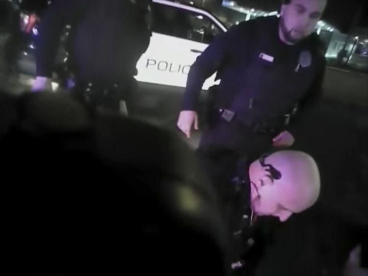 Police Taser Brown