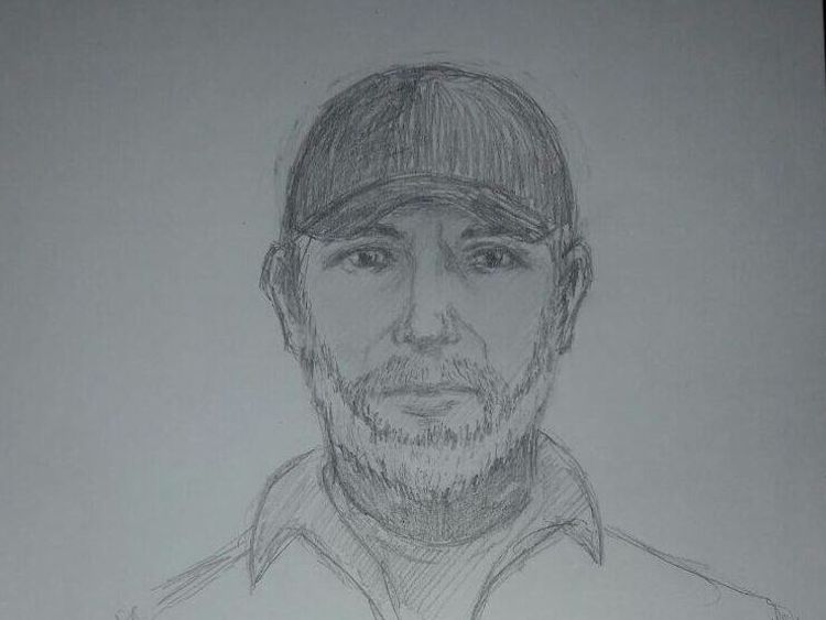 Ukraine's interior ministry has released this image of the suspect