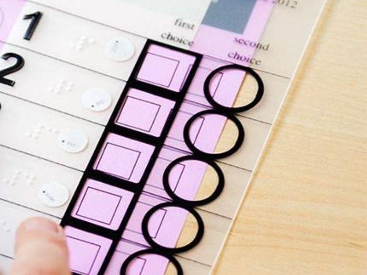 Govt rejects online voting for disabled voters