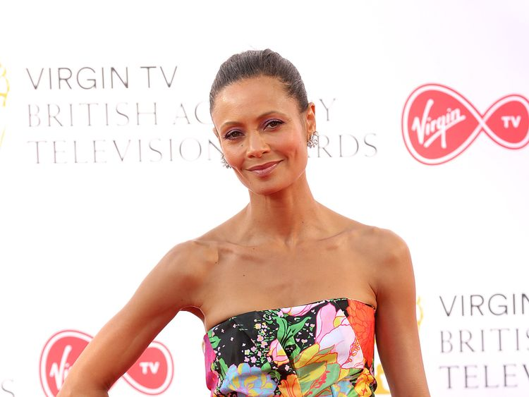 Thandie Newton attending the Virgin TV British Academy Television Awards 2018 held at the Royal Festival Hall, Southbank Centre, London. PRESS ASSOCIATION Photo. Picture date: Sunday May 13, 2018. See PA story SHOWBIZ Bafta. Photo credit should read: Isabel Infantes/PA Wire