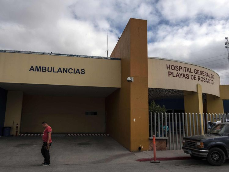Thomas Markle reportedly underwent heart surgery at this hospital in Rosarito, Mexico