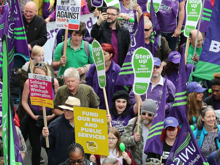 Rally amid 'worst pay squeeze for 200 years'