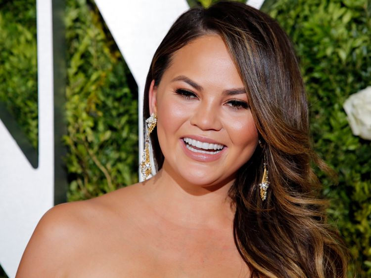 Chrissy Teigen is said to have been blocked by the president