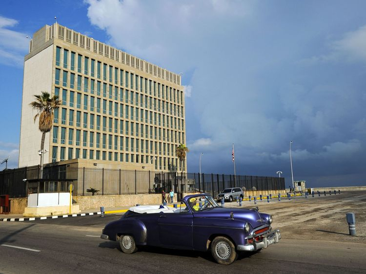 The US recalled non-essential embassy staff from Havana, Cuba, after potential sonic attacks in 2017