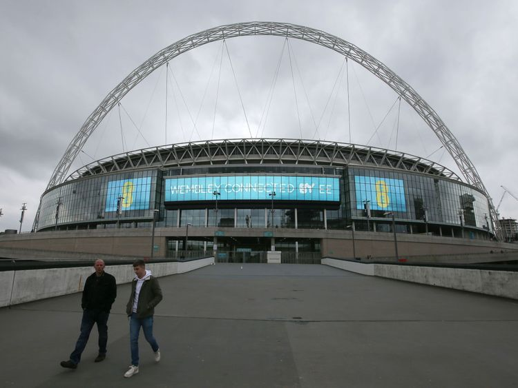 Some of the lines serving Wembley may not be running on Saturday