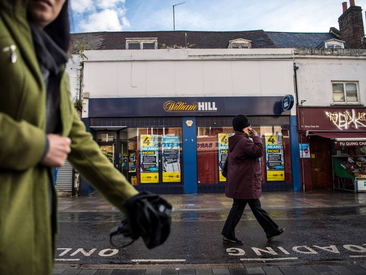 William Hill said around 900 of its shops could become 'loss making' following the decision