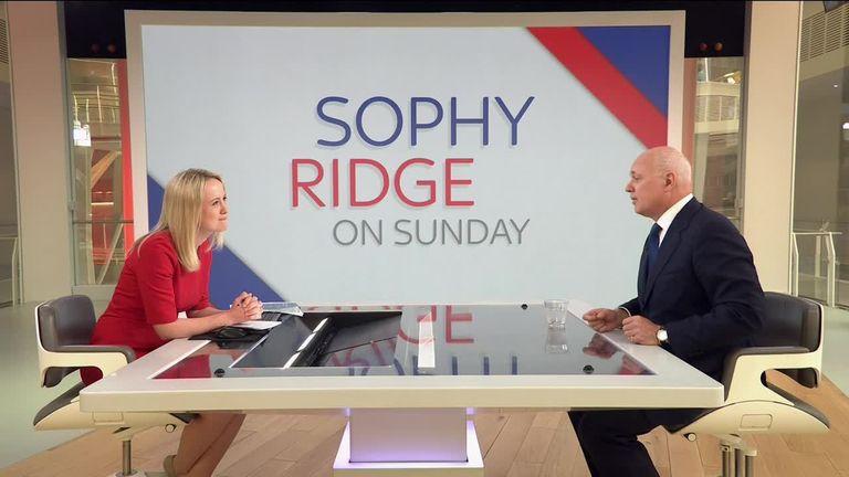 Sophy Ridge and Iain Duncan Smith
