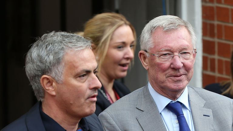 Sir Alex Ferguson has undergone surgery