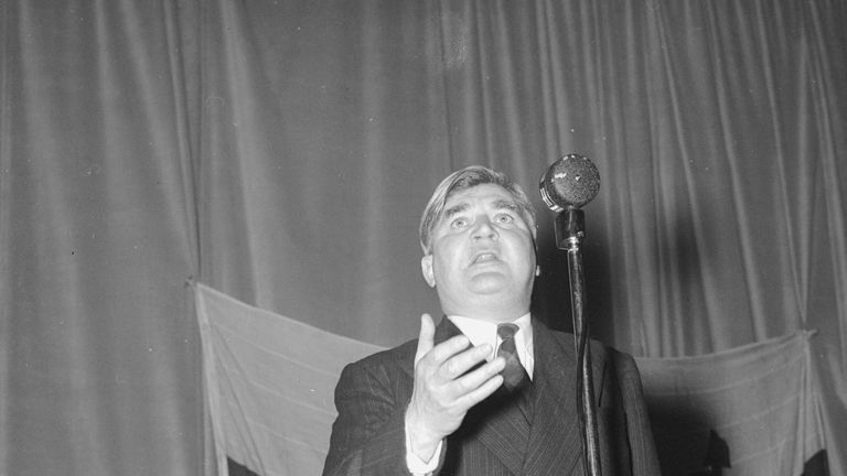 Health Secretary Aneurin Bevan launched the NHS in 1948