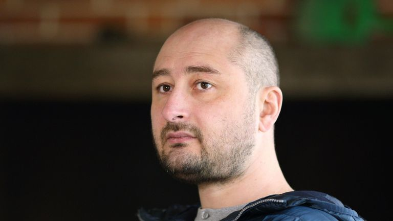 Arkady Babchenko has been living in Kiev, Ukraine, after a campaign of harassment in Russia