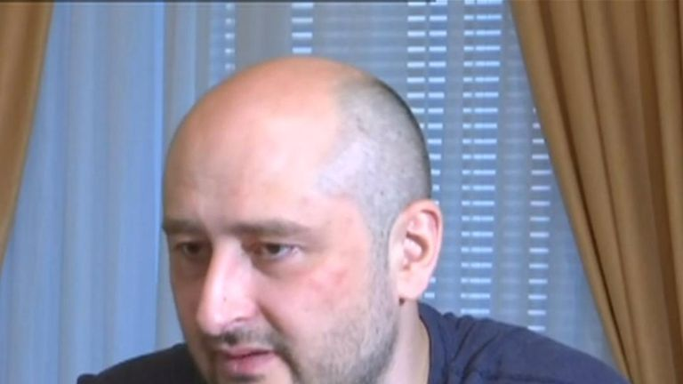 Russian journalist Arkady Babchenko discusses the detail of his fake death