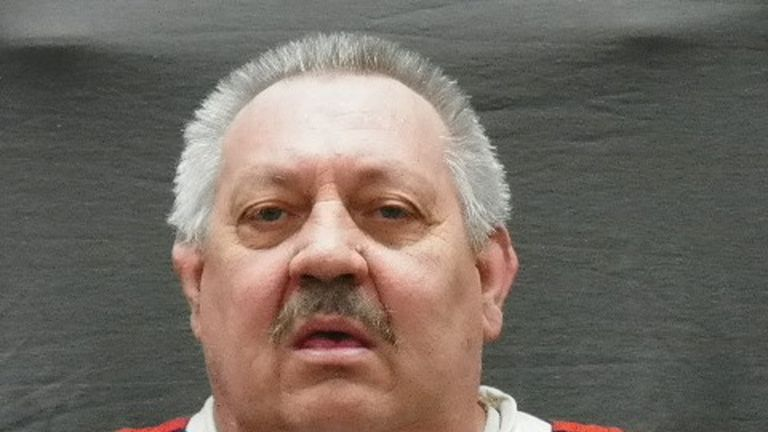 Arthur Ream is pictured in this undated handout photo obtained by Reuters May 8, 2018. Michigan Department of Corrections/Handout via REUTERS