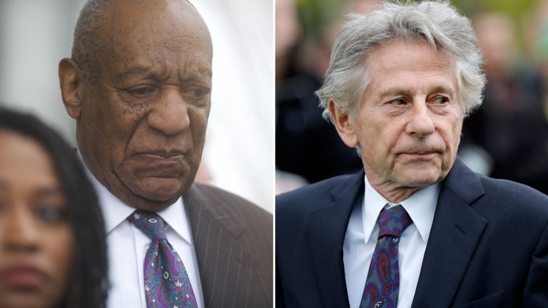 Bill Cosby and Roman Polanski have been expelled from the film academy