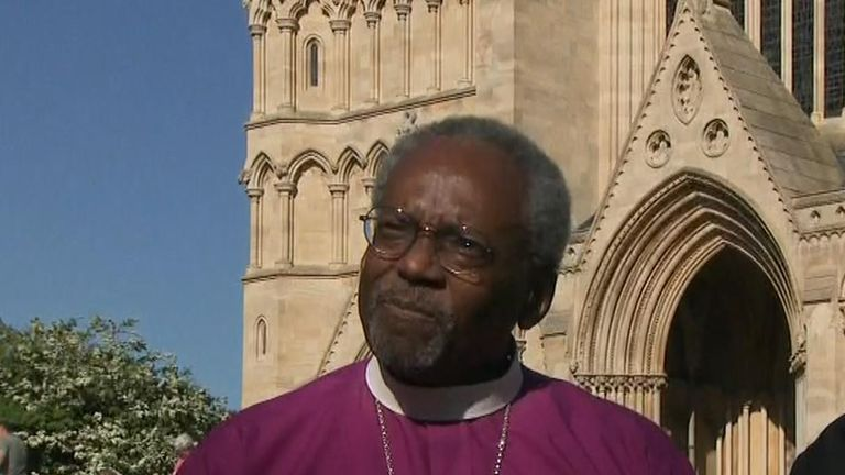 Black Preacher At Royal Wedding.Bishop I Was Speaking To The Couple