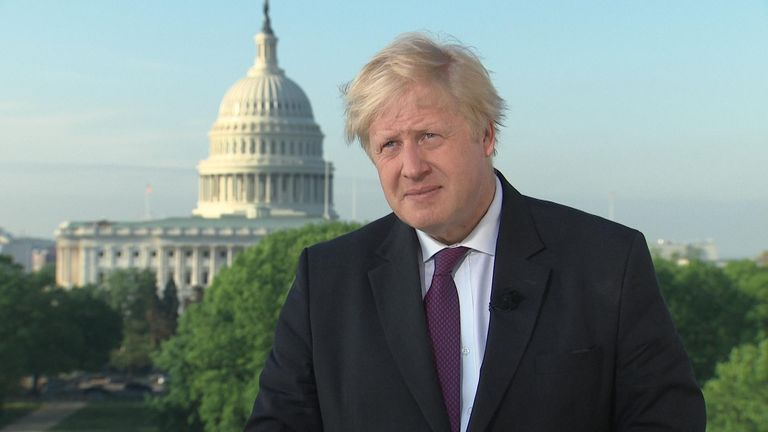 Foreign Secretary Boris Johnson says Trump should get Nobel Peace Prize if he sees through the North Korea and Iran deals.