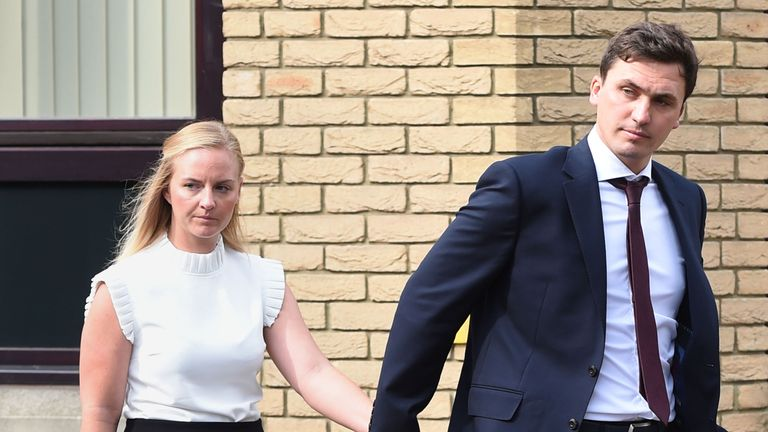 Shelby and William Thurston were found guilty of gross negligence manslaughter