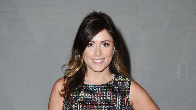 Morgan Freeman accuser Chloe Melas at a fashion show in New York in 2016