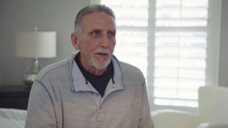 Craig Coley, 70, was wrongly accused of a double murder in 1978. Pic: YouTube