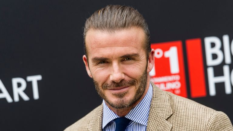 David Beckham will be in the role for two years