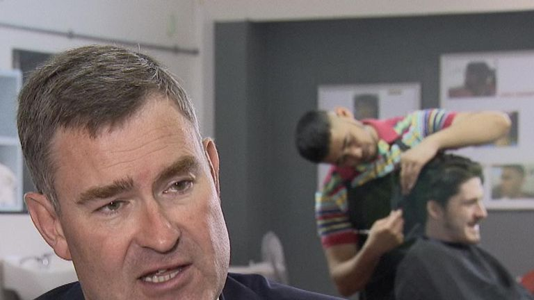 David Gauke, Justice Secretary, speaking to Sophy Ridge