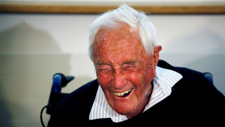 David Goodall, 104, ended his life at a Swiss clinic