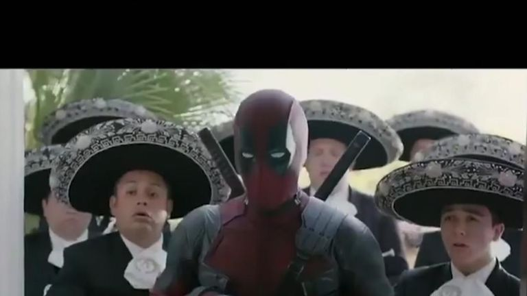 Not even a mariachi band could stop Beckham's anger