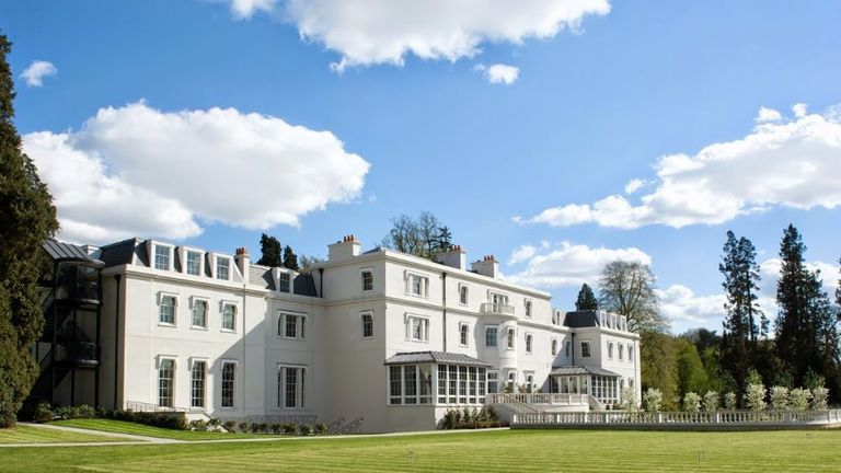 Prince Harry and his best man Prince William will stay at the Dorchester Collection's Coworth Park