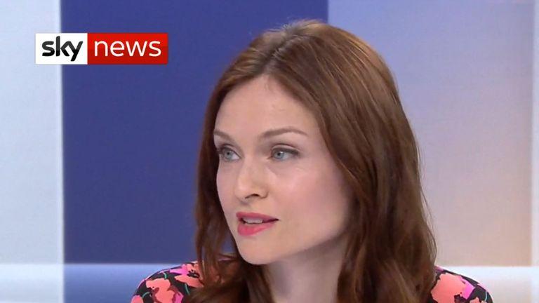 Sophie Ellis-Bextor says she met 'inspiring' children in Moldova