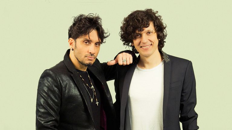 Ermal Meta and Fabrizio Moro are singing for Italy this year. Pic: Paolo De Francesco