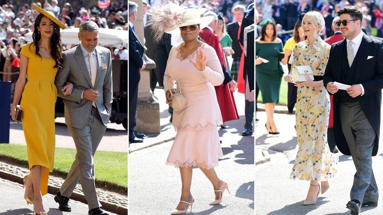 60628658 Harry and Meghan's guest list best dressed: Kenya Hunt's verdict ...