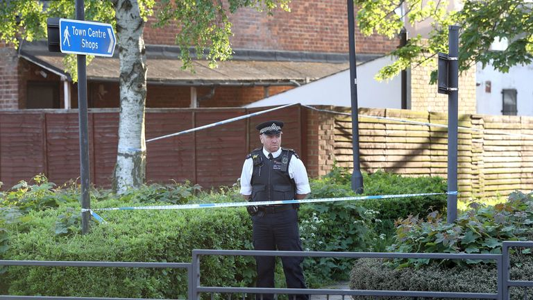 Two boys have been taken to hospital after they were found wounded