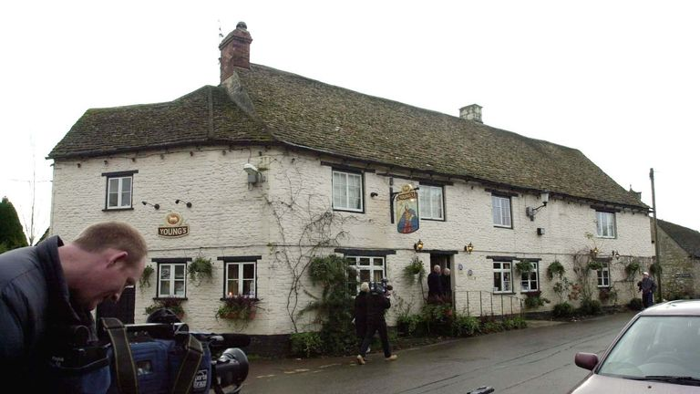 The Rattlebone Inn at Sherston, Wiltshire, the public house at the centre of the drink allegations surrounding Prince Harry