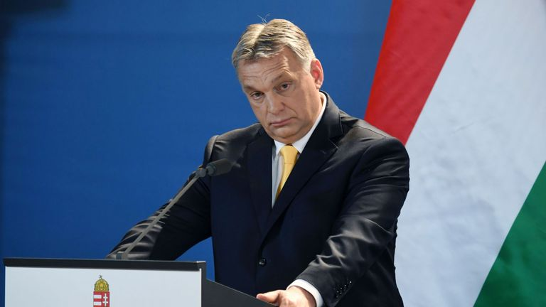 Viktor Orban has clashed wit the EU over immigration