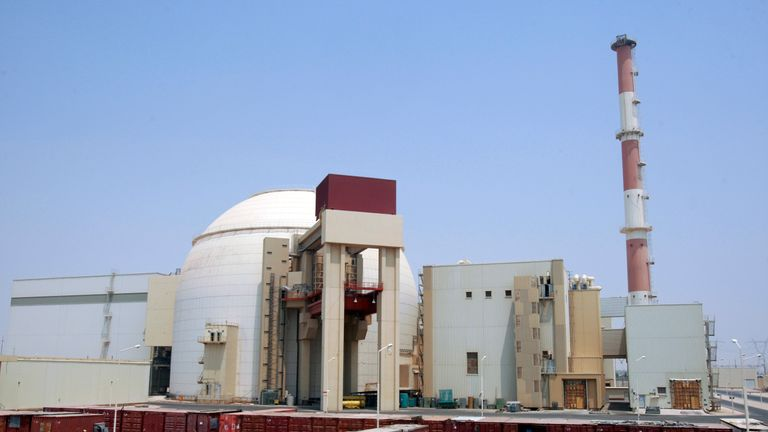 Iran's nuclear programme began in 1974 with plants to build two reactors at Bushehr