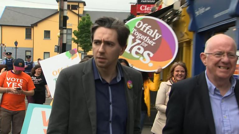 Simon Harris is pushing for a Yes vote on Friday
