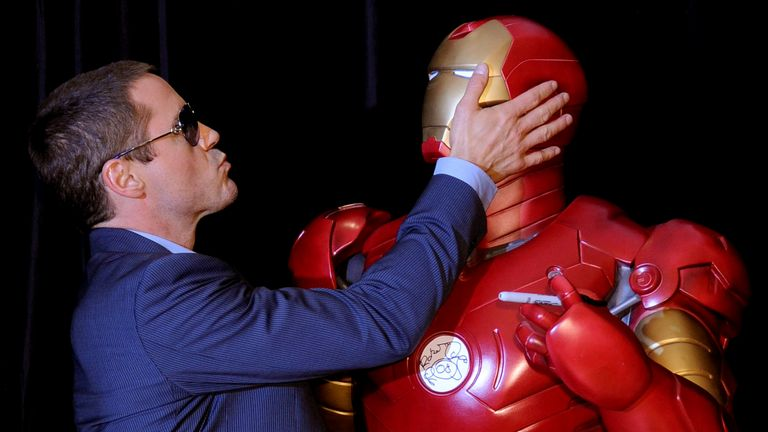 The 2008 Iron Man movie was the first in the series
