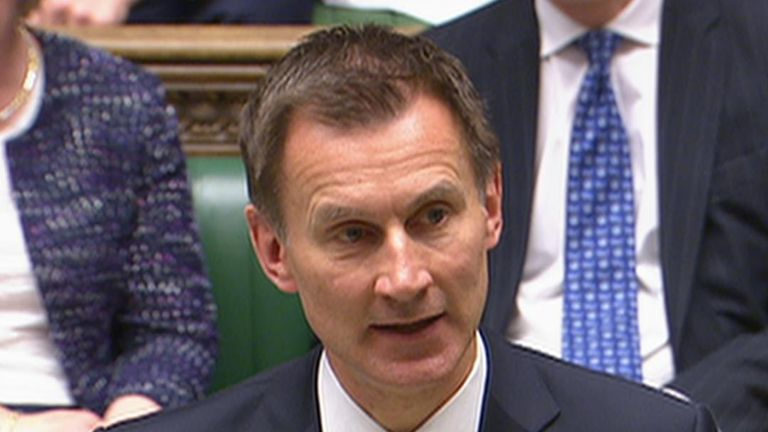Health Secretary Jeremy Hunt admits up to 270 lives may have been shortened because of an NHS failing over breast cancer