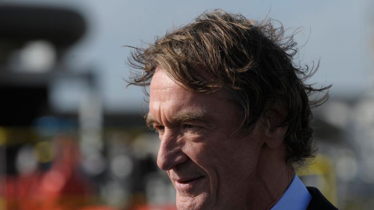 Ineos chairman Jim Ratcliffe has topped The Sunday Times rich list