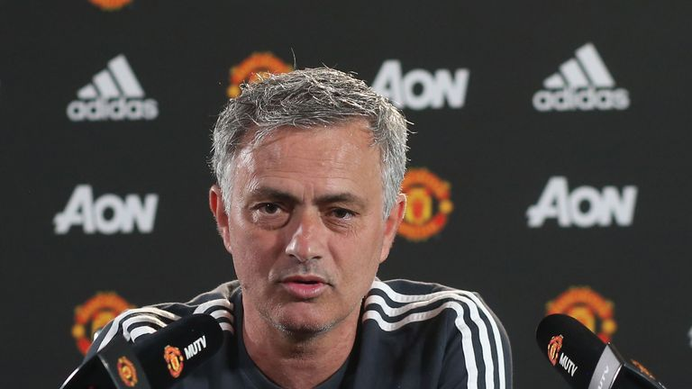 Manchester United manager Jose Mourinho is 'confident' Sir Alex Ferguson will make a swift recovery after his brain haemorrhage