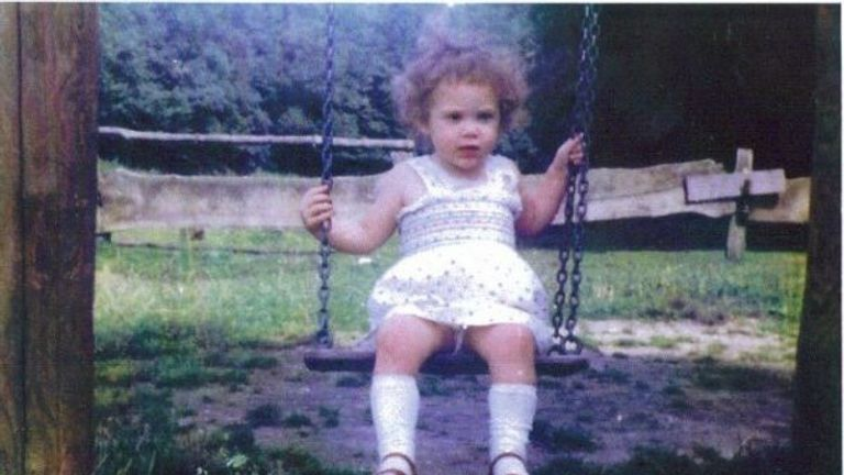 The toddler vanished while at a supermarket with her mother and aunt
