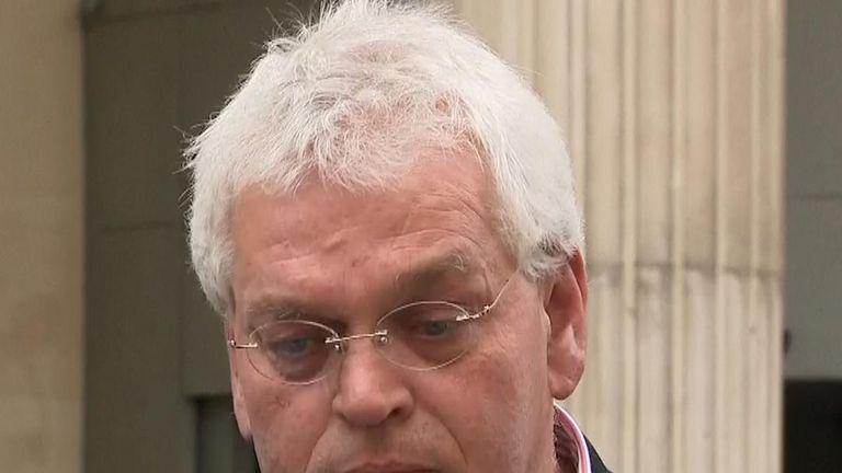 Father of Mark van Dongen speaks after sentencing of woman who threw acid over his son