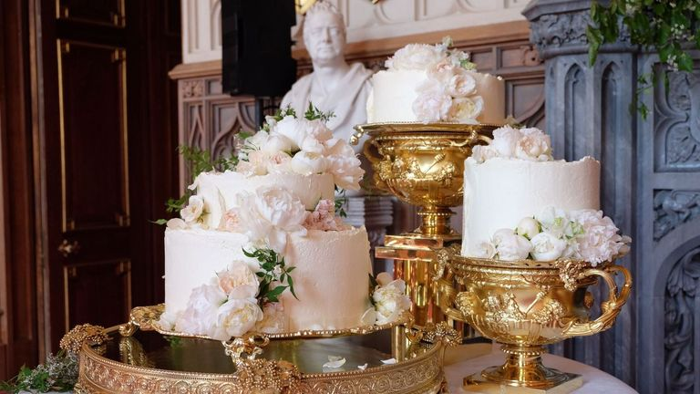 Wedding cake. Pic: Kensington palace